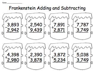 Kristin Kennedy Technology Enhanced Teaching Teaching Subtraction Addition And Subtraction Worksheets Halloween Teaching