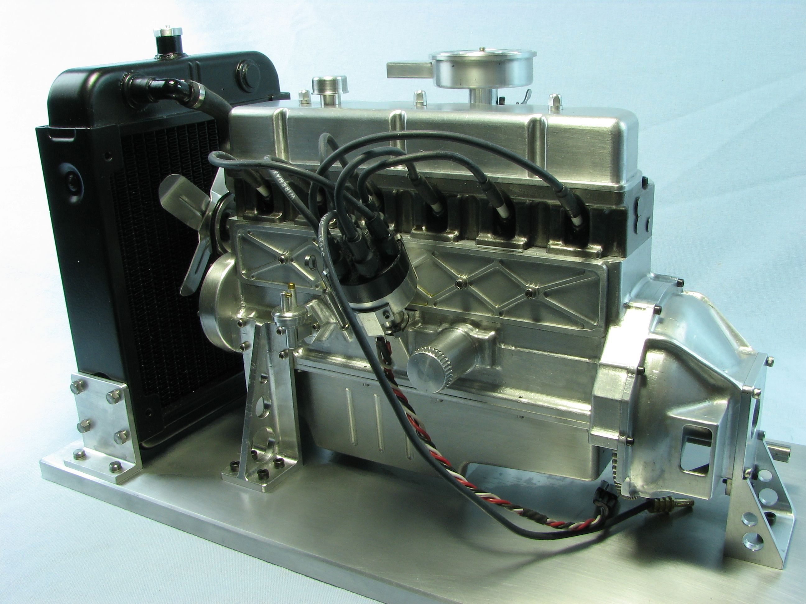 small resolution of ford 300 inline six in 1 6 scale