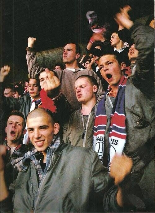 Skinhead Paris Kop Of Boulogne 1985 Un Po Pop Un Po Pulp