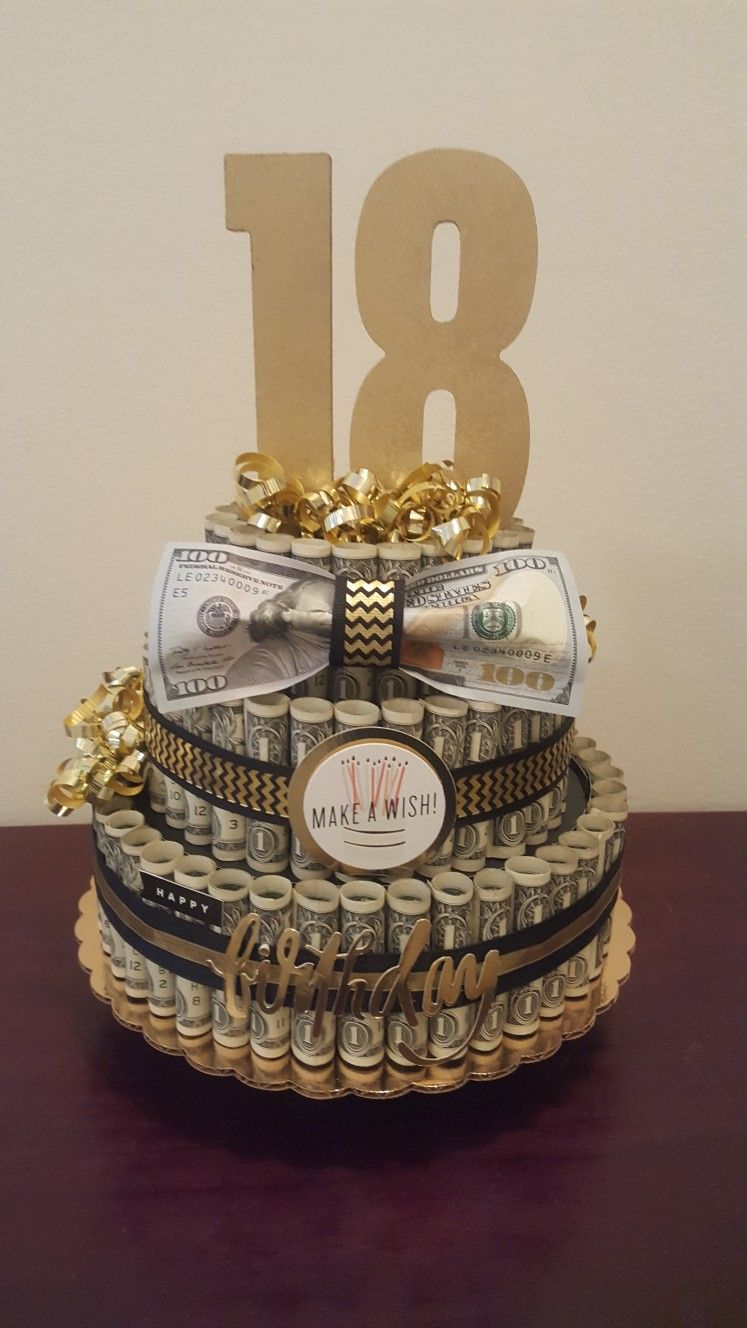 Birthday Gift Money Cake Unique Visit My Facebook Page For More Pics