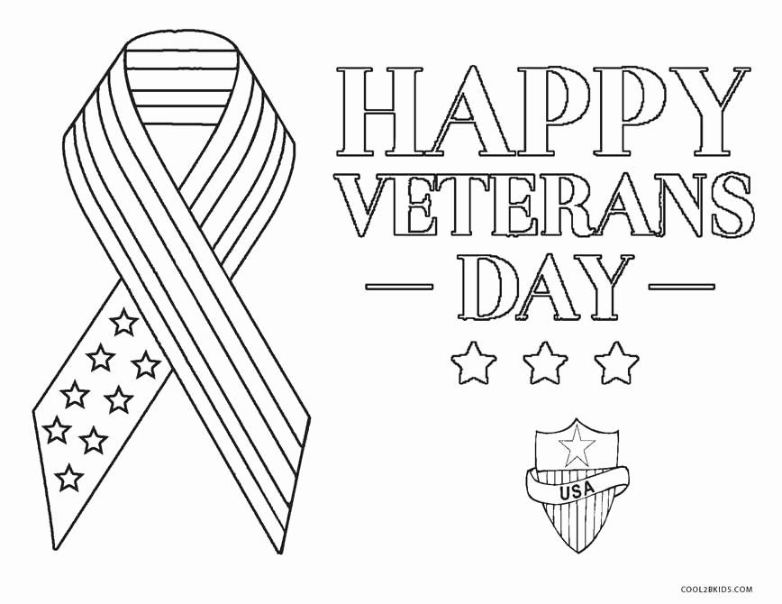 Veterans Day Coloring Page Unique Free Printable Veterans Day
