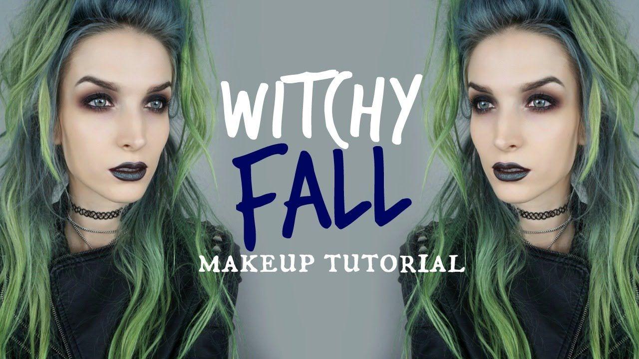 Dark & Witchy Fall Makeup Tutorial