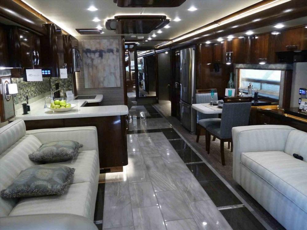 25 Luxury Rv Motorhome Interior Design For Summer Holiday Decoor