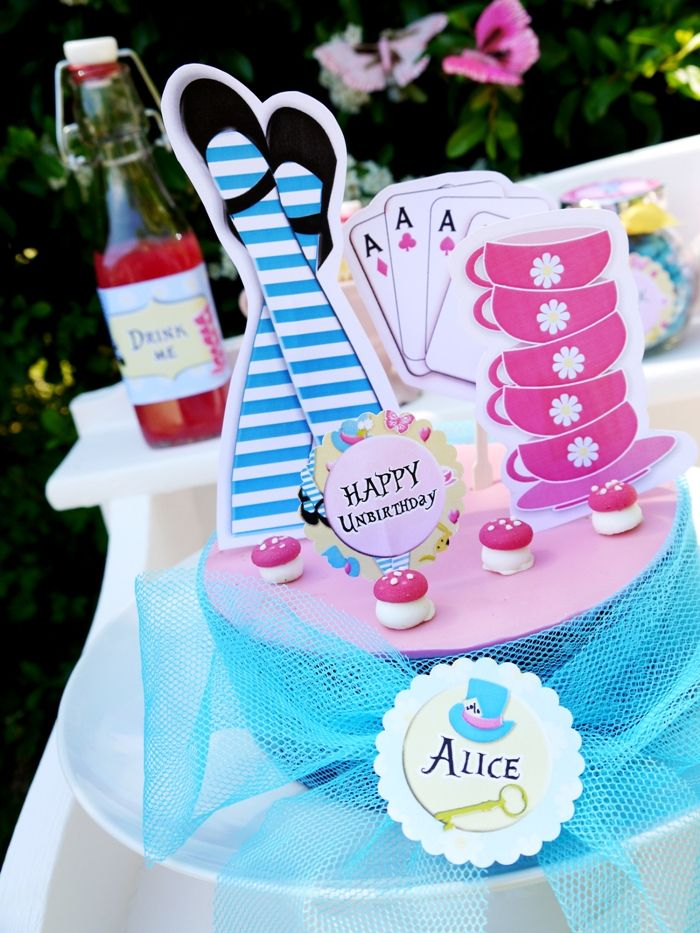 Alice in Wonderland Inspired Un Birthday Alice