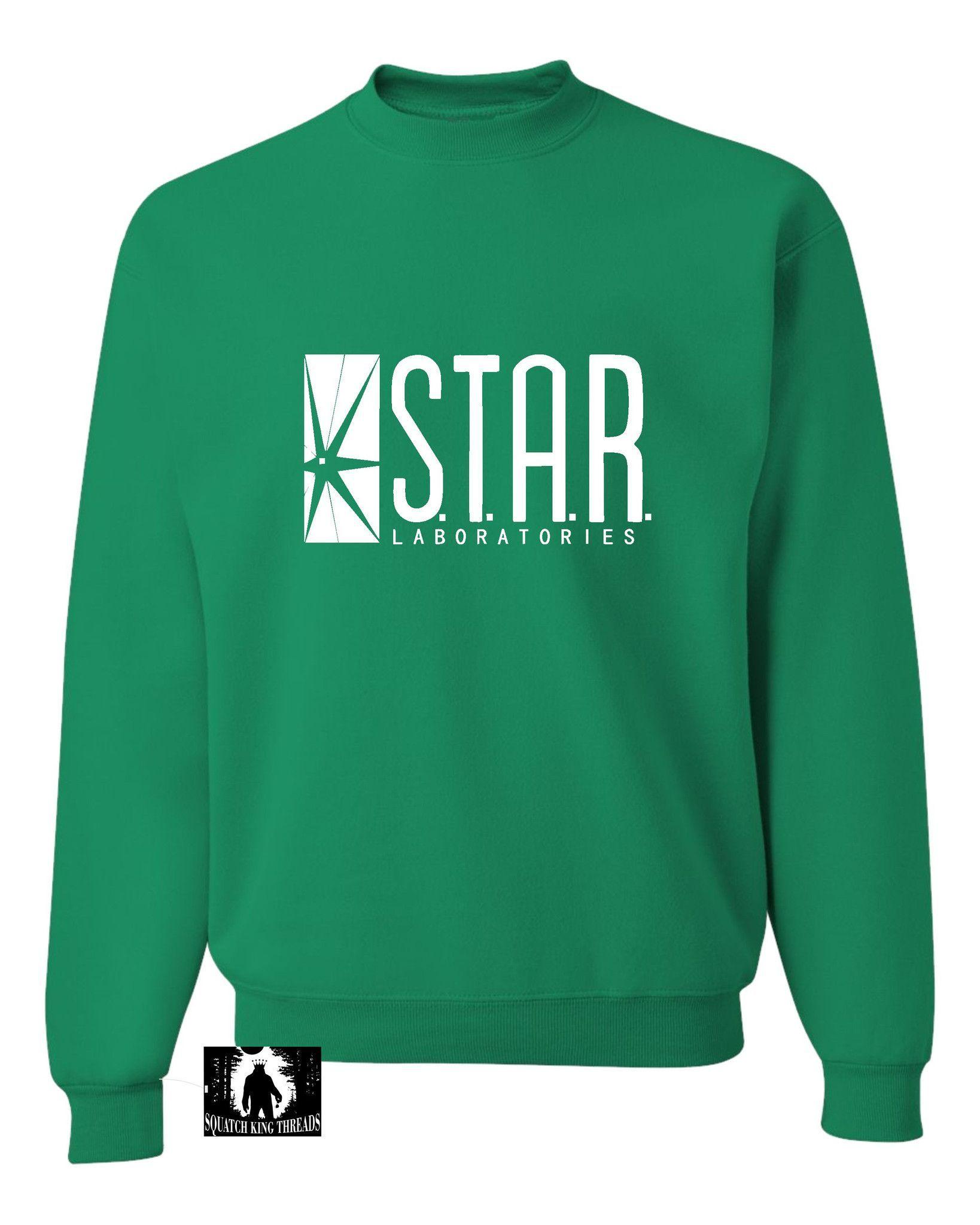 Adult Star Labs Sweatshirt Crewneck