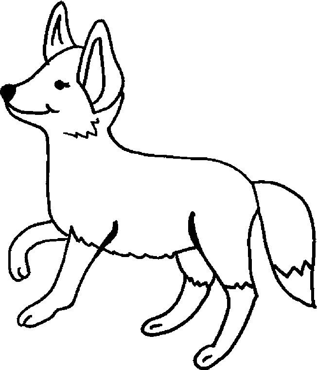 Pin By Ivy Wreden On Hp Fox Coloring Page Cartoon Coloring Pages Animal Coloring Pages
