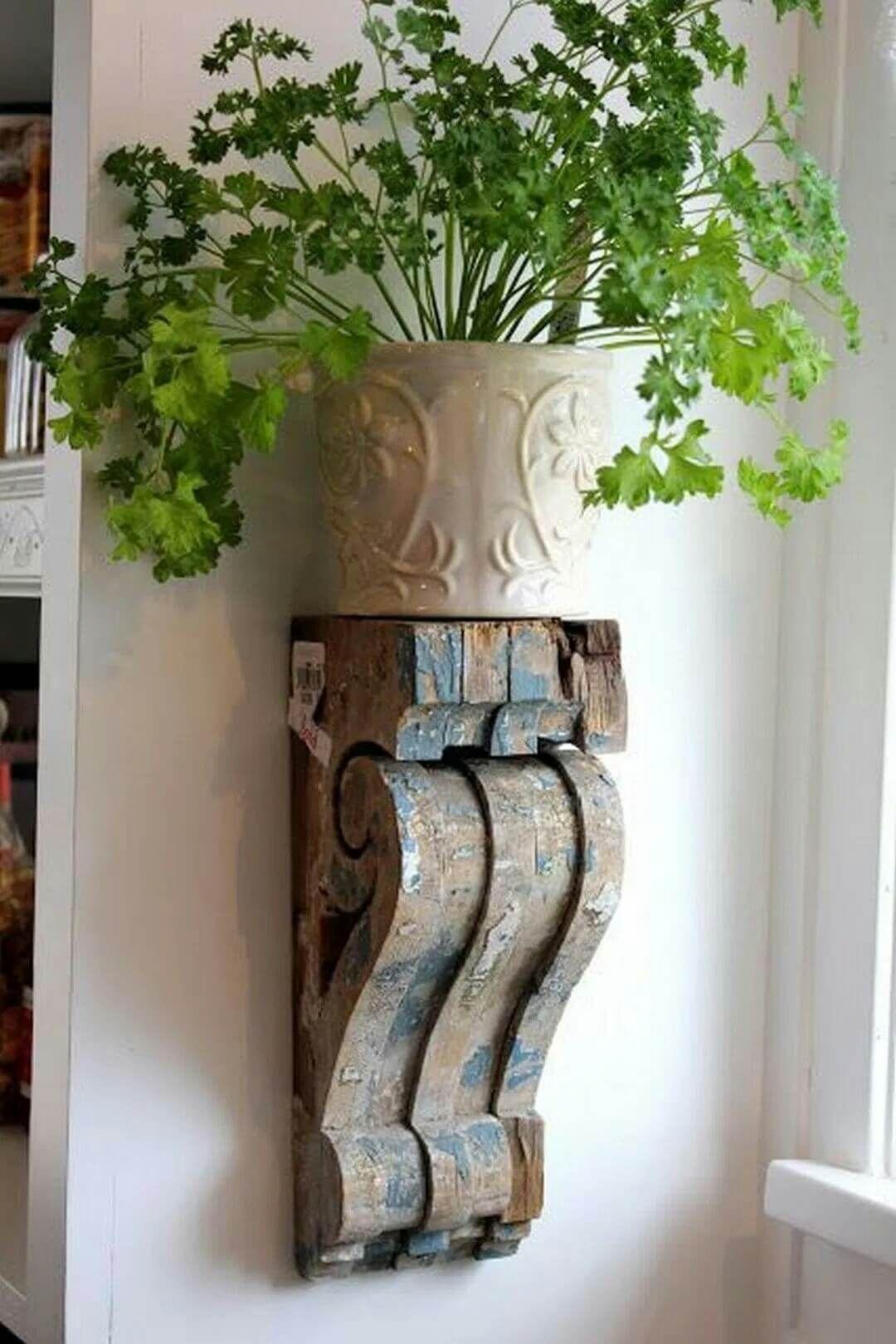 Idee Creative Per La Casa 37 creative ideas for decorating with rustic corbels | idee