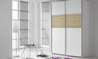 Rauch Quadra Extra Sliding Wardrobe Front And Application Wood