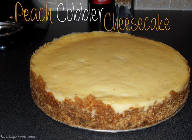 Holiday Recipe Vault – Peach Cobbler Cheesecake | the sugar mama diaries #peachcobblercheesecake Holiday Recipe Vault – Peach Cobbler Cheesecake | the sugar mama diaries #peachcobblercheesecake