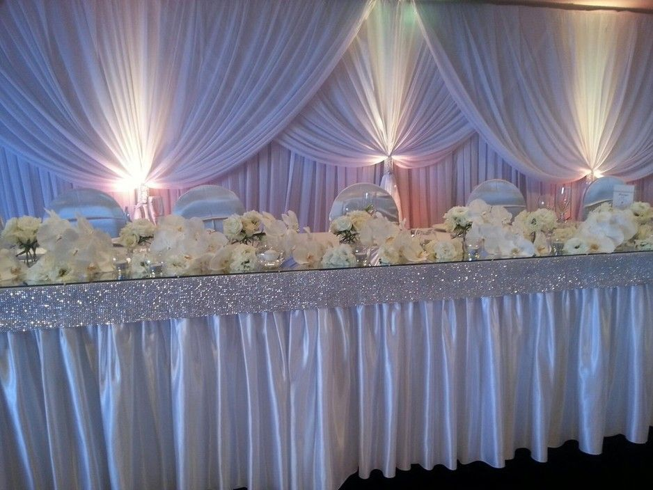 Decorations By Jelena Custom Backdrop And Main Table Designs