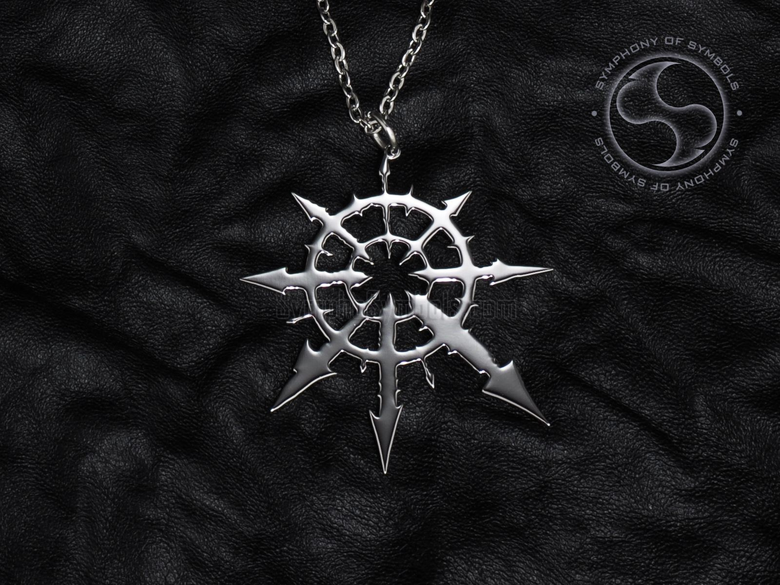 Chaos star symbol pendant stainless steel jewelry chaos cross chaos star symbol pendant stainless steel jewelry chaos cross necklace keychain chaosphere logo eight pointed aloadofball Gallery