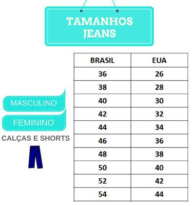 Roupa, Calçado e Acessórios Guia de tamanhos | Mellmak
