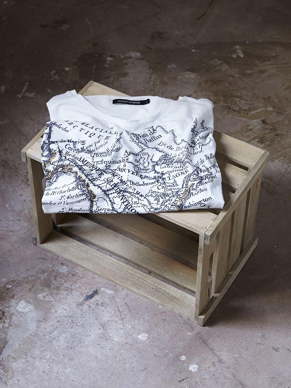 Ce tee-shirt pour Homme vous suivra jusqu'au bout du monde