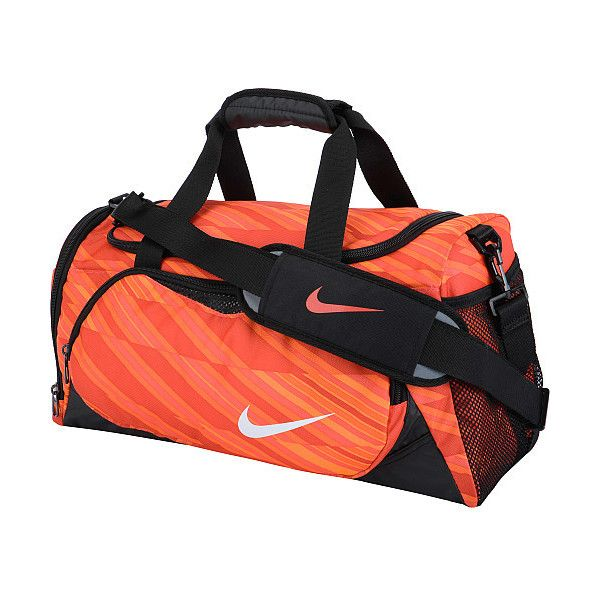 Nike YA Team Training Small Duffel Bag ( 26) ❤ liked on Polyvore featuring  bags 868c5fff21bda