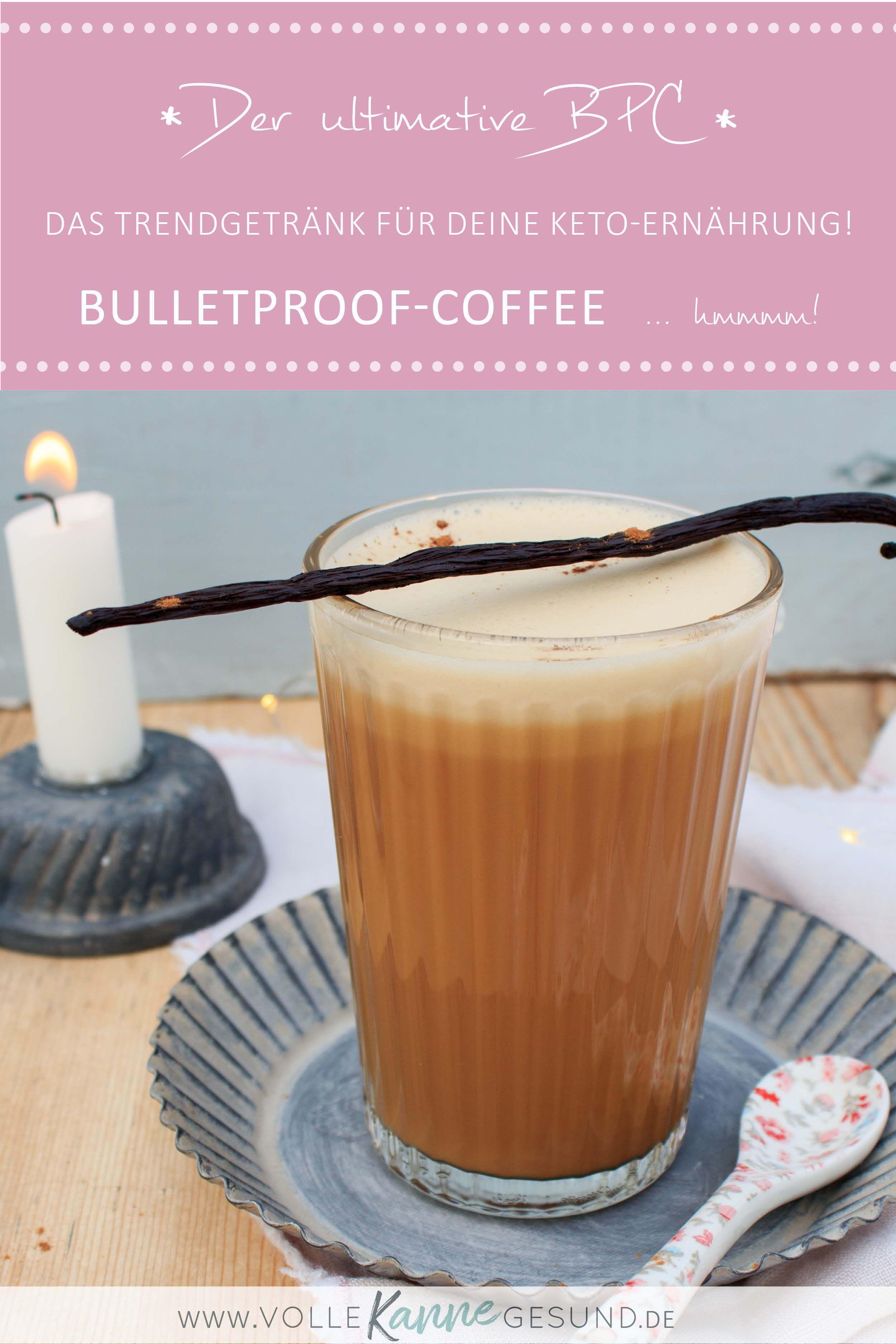 Bulletproof Coffee – Keto Frühstück