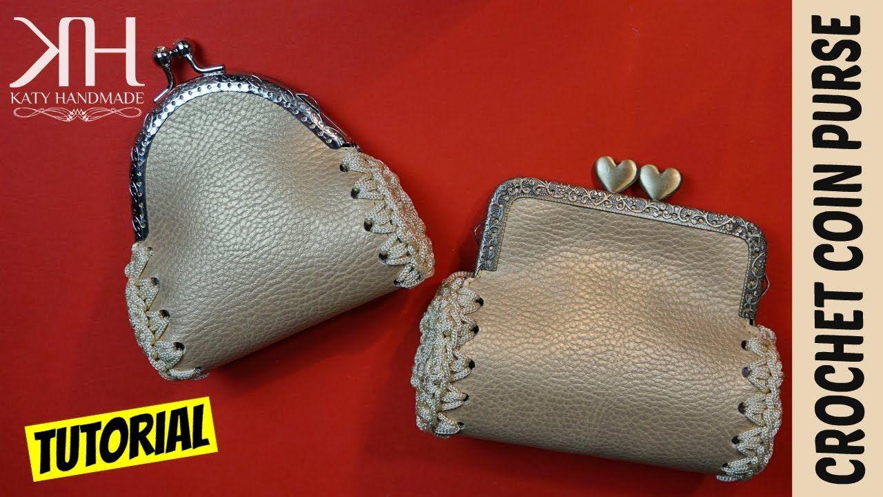 TUTORIAL PORTAMONETE FACILE E VELOCE | Uncinetto/Crochet || Katy Handmade