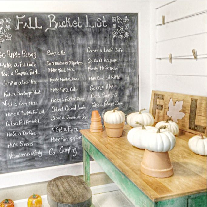 16 Absolutely Gorgeous Mediterranean Dining Room Designs: Fall Decor For Our Art Room. Hello Pumpkins!