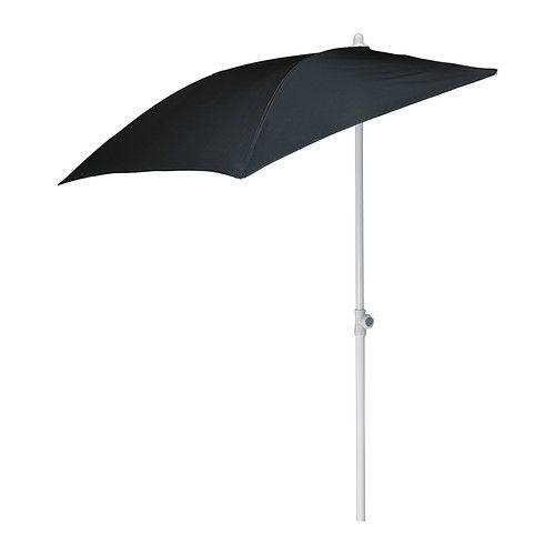 FLISÖ Parasol, noir | For my oasis | Pinterest | Parasol balcon