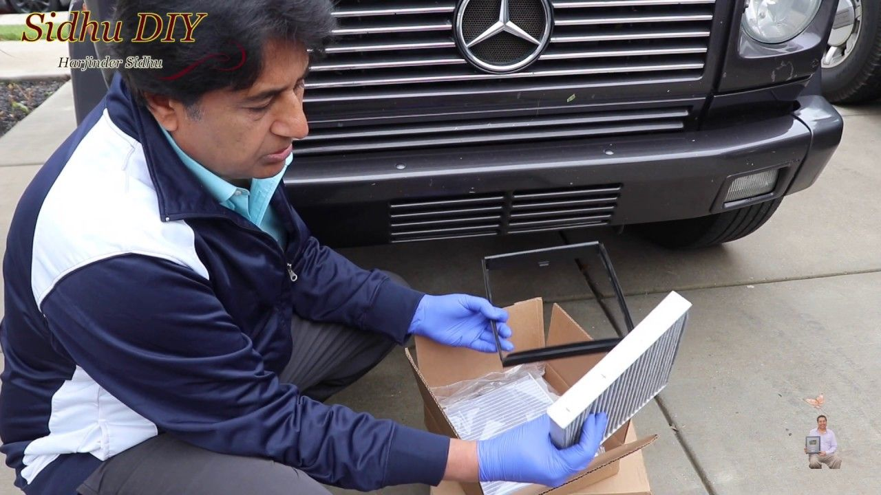 How To Change Cabin Air Filter On Mercedes G500 W463 In 2020 Mercedes G500 Cabin Air Filter Mercedes