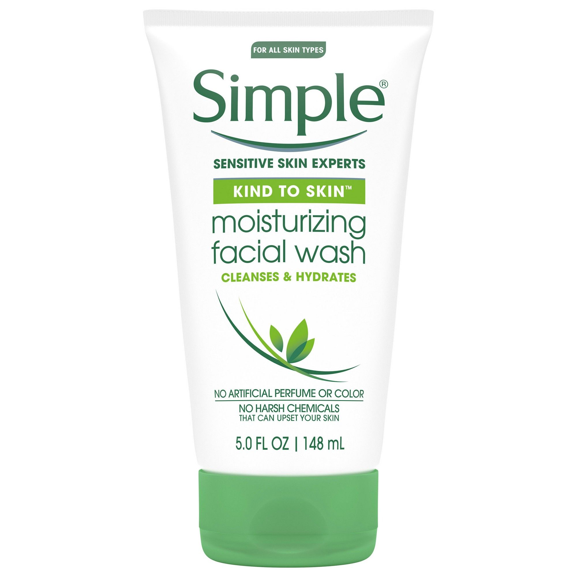 Simple Kind To Skin Moisturizing Facial Wash 5 Fl Oz With Images Facial Wash Moisturizing Face Wash Facial Cleanser