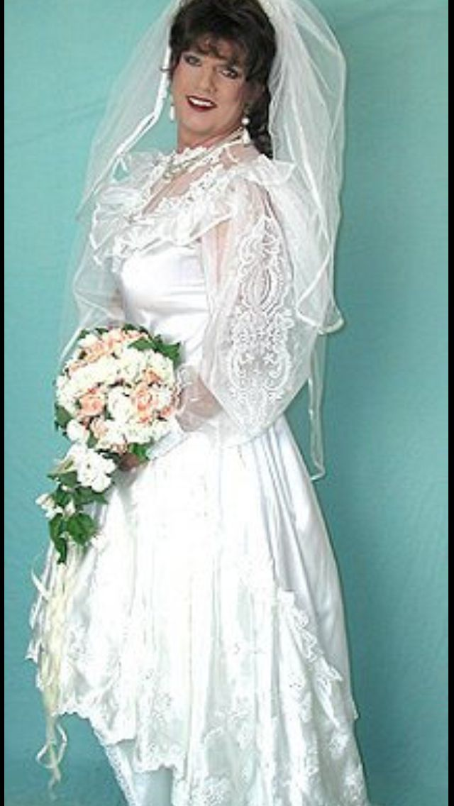 Transvestite bride pictures