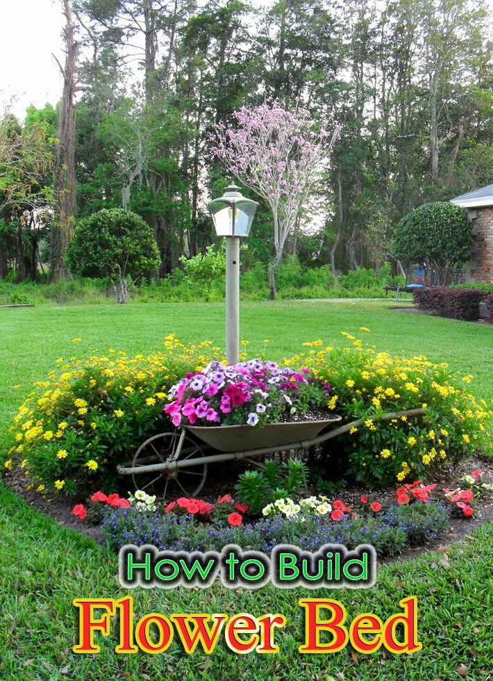 How To Build A Flower Bed U2013 Starting A Flower Bed From Scratch. Once You