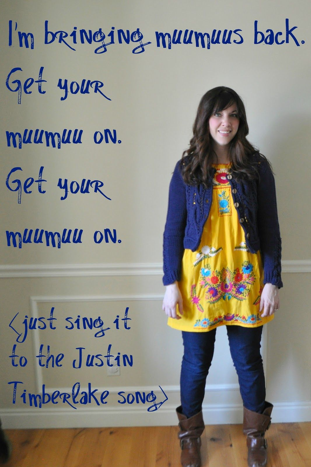 I Am Momma - Hear Me Roar: Refashionista - I\'m bringing muumuus back ...