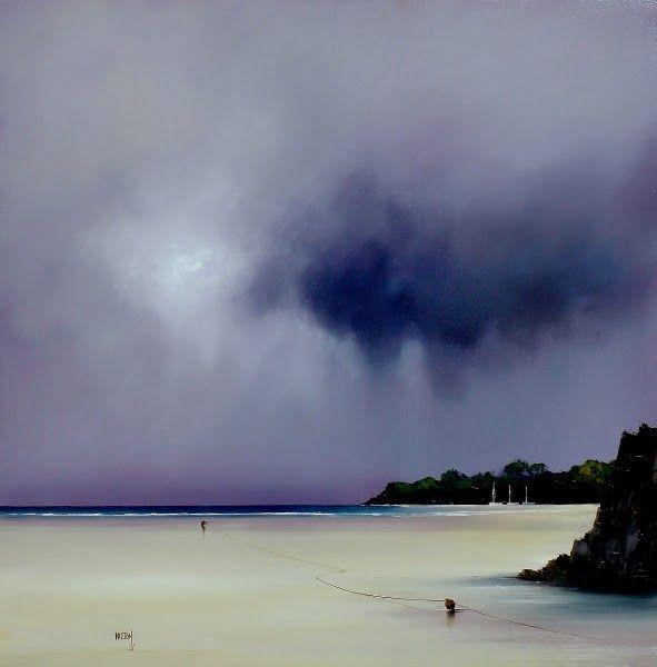 Barry Hilton nació en 1941 en Manchester.   A pesar de no tener formación académica, la pintura y el dibujo habían jugado un papel impo...