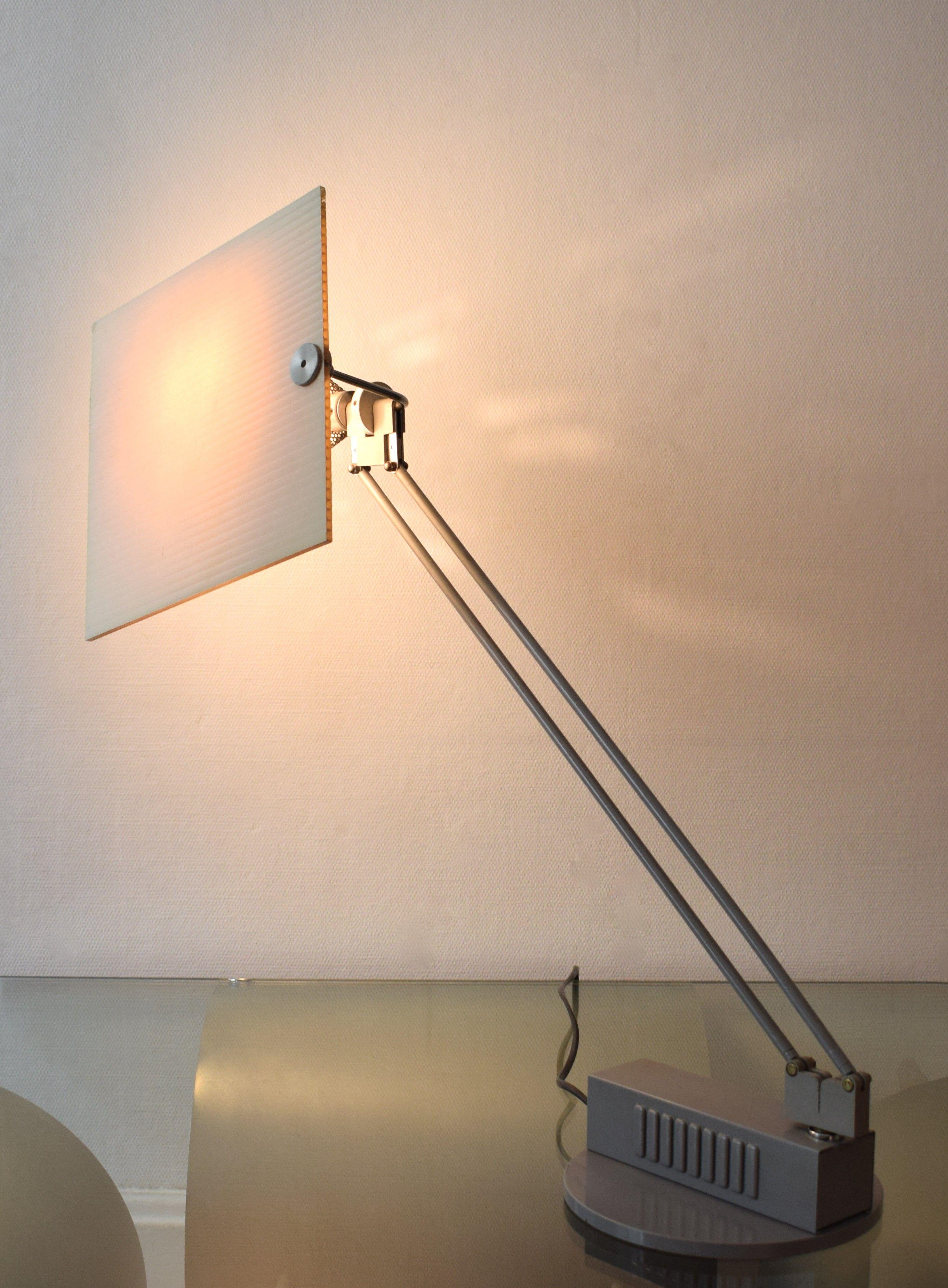 Lampe de bureau Aluminor en métal, Sacha KETOFF 1980