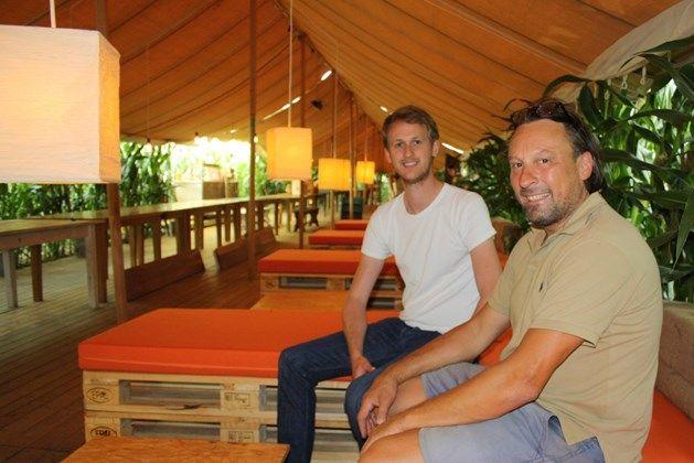 Pop-up restaurant in maïsveld wordt nu ook hotel én zomerbar