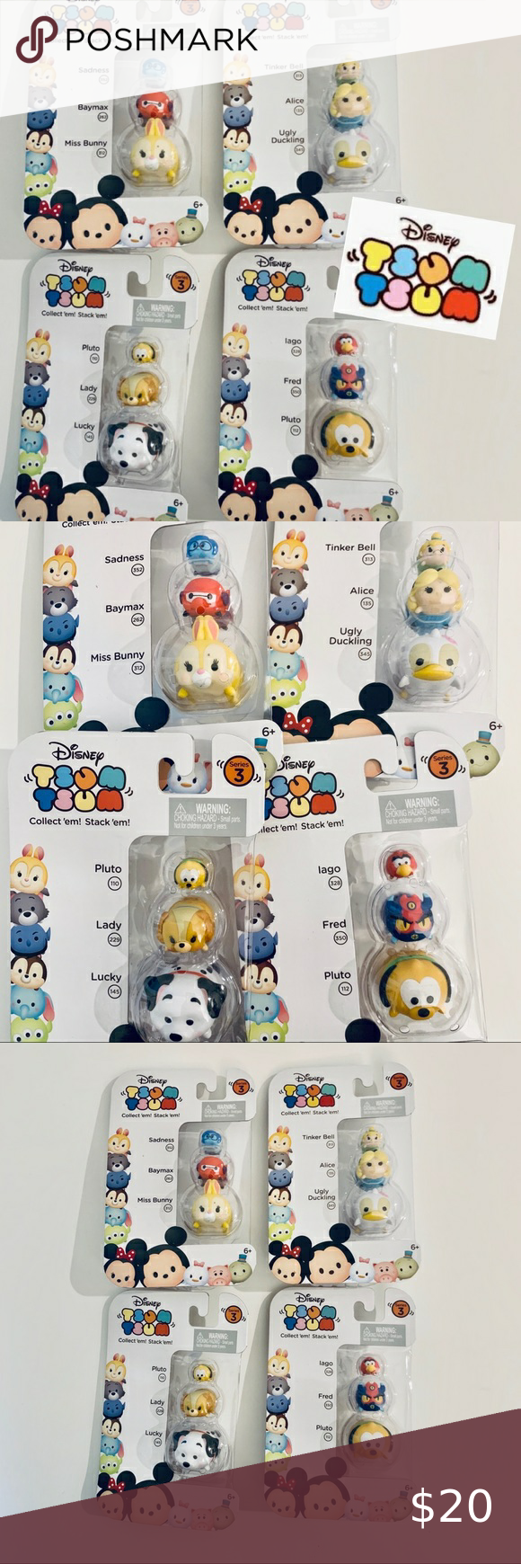 Tsum Tsum Disney Stackable Figures Mix Bundle Tsum Tsum Disney Stackable Figures Mix Bundle   Bundle contains 4 packs with 3 figures each pack  See pictures for different kinds   All season 3  Condition: new in sealed package Includes collector guide  Support a great cause to empower vulnerable youth in our community. Fitrah.org  Bin C3 #0023 Disney Other
