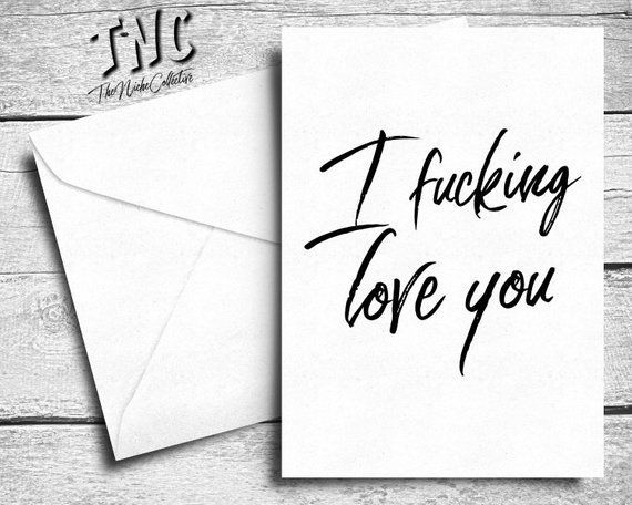 Remarkable, Adult love card excellent