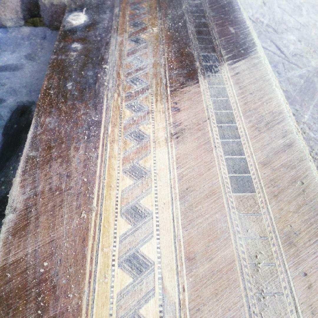 #singermachine #renovation #intarsia #instawood #fornir #woodwork #kielce de mistrzdawid
