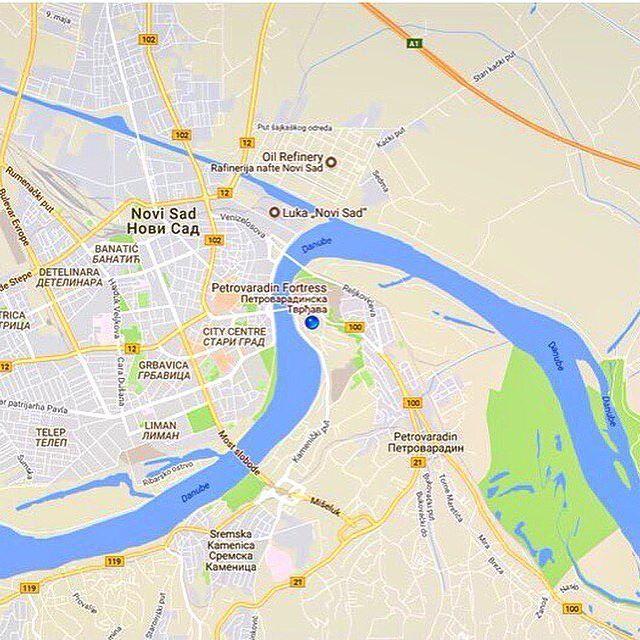Exit Festival Novisad Serbia Youtube Video Link In - Novi sad map