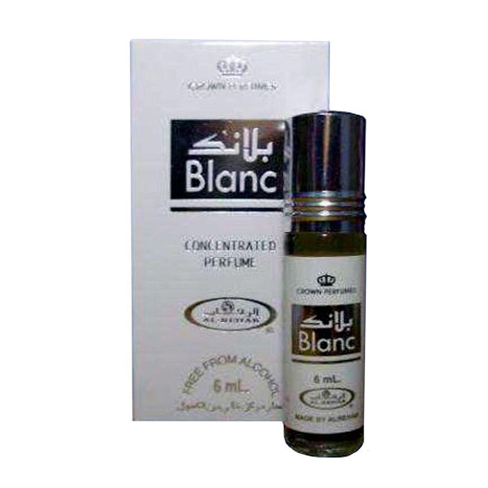Al Rehab Blanc 6 Ml Crown Perfumes Roll Ons Ebay Darul Haq Parfum White Musk Minyak Wangi