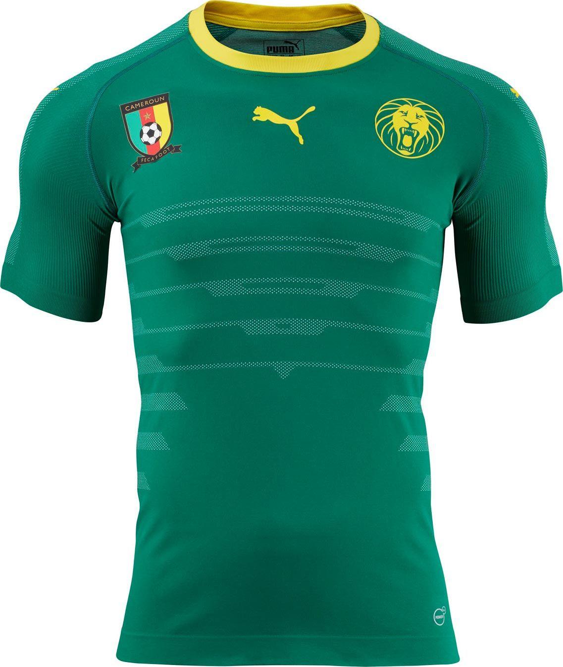 Cameroon (Fédération Camerounaise de Football) - 2016/2017 Puma Home Shirt