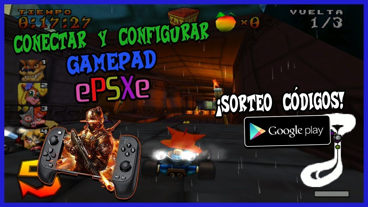 COMO CONECTAR Y CONFIGURAR UN CONTROL / MANDO / GAMEPAD O