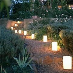 Lighted Walkway