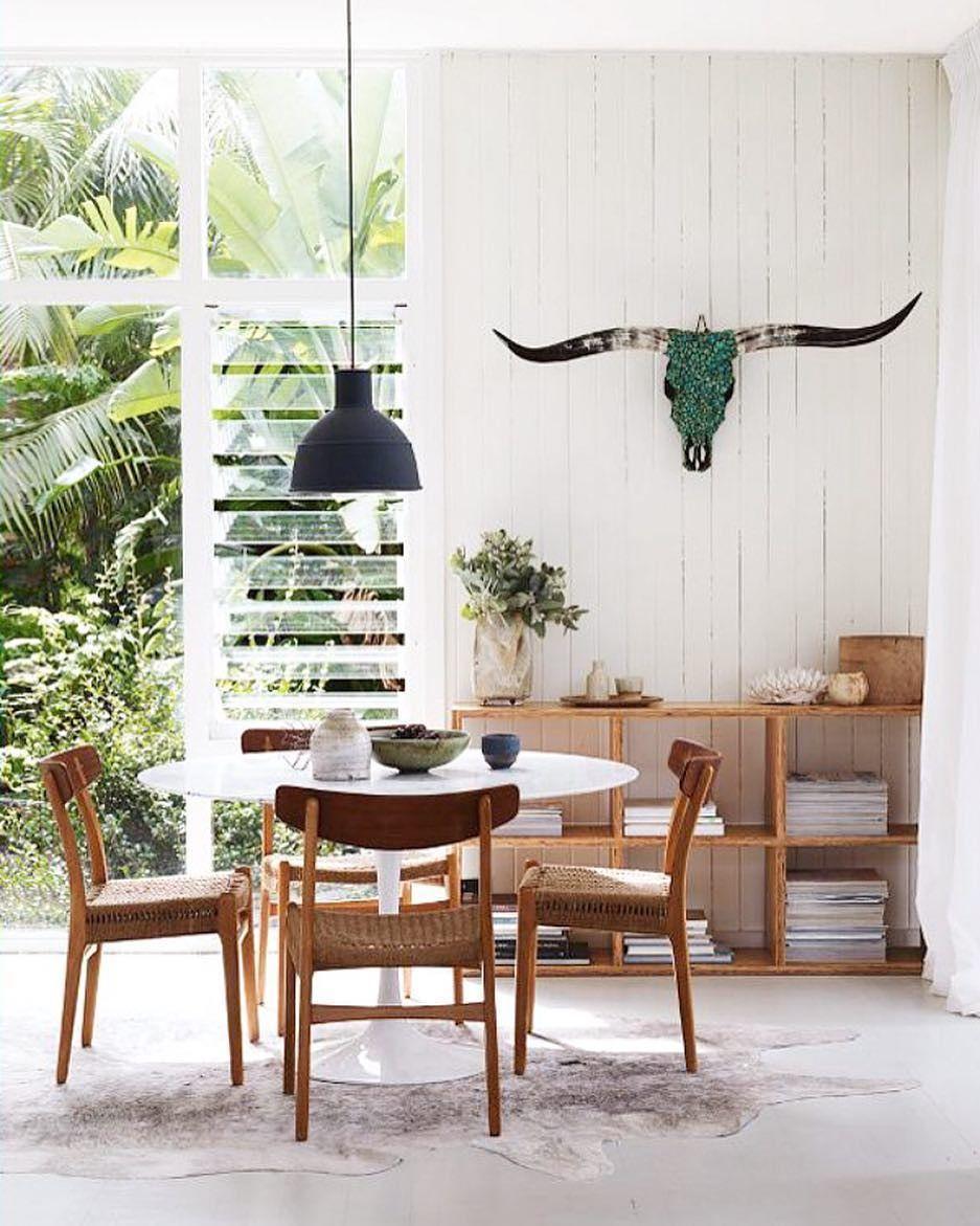 Desain Modern Ruang Makan Minimalis Modern Menyatu Dengan Ruang  # Meuble Tv Design Ked