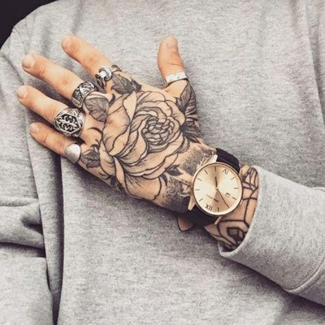 Photo of 100 Herrliche Blumen Tattoo Entwürfe für Ihre eigene Inspiration – Tattoos – ZENIDEEN