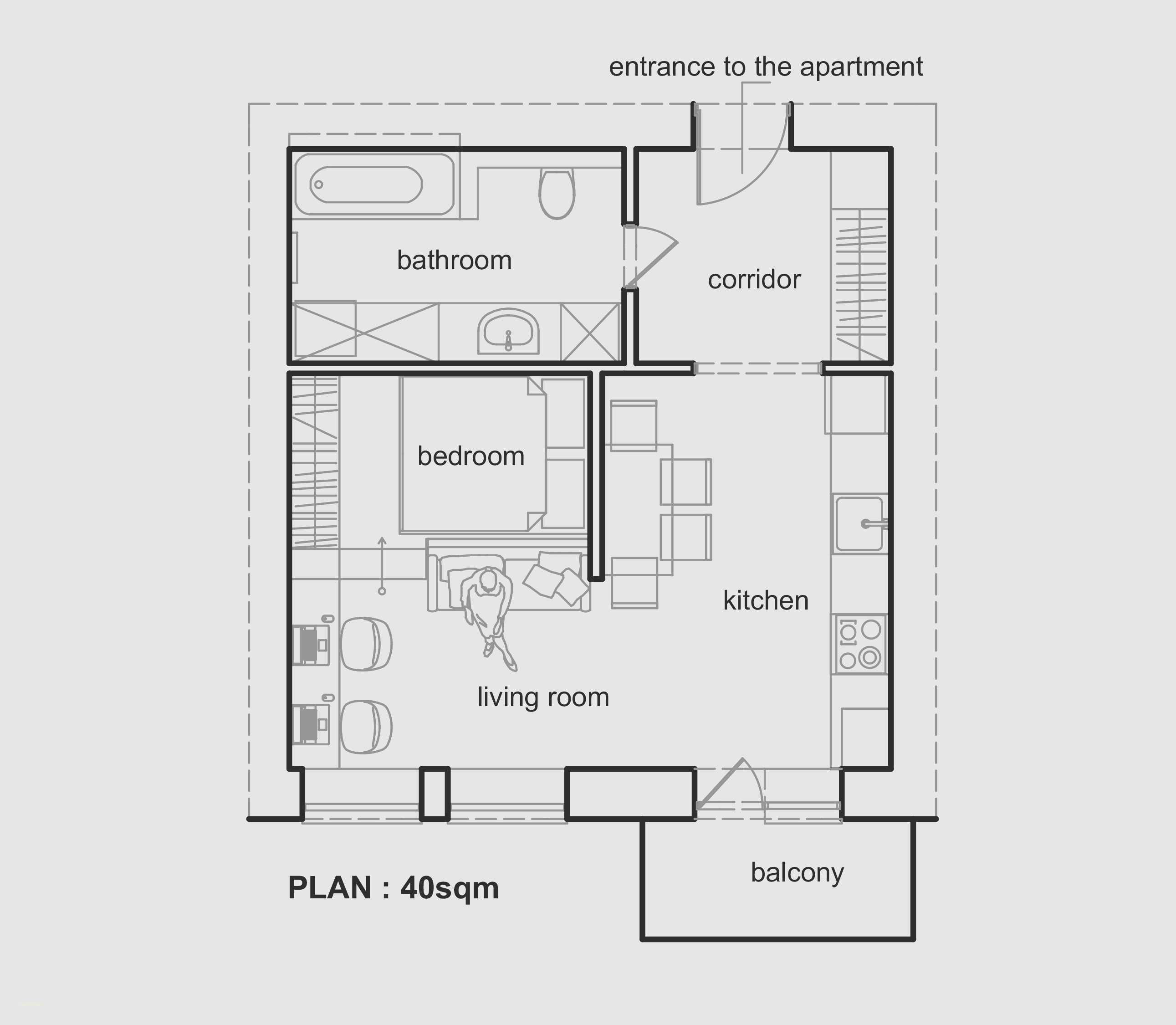 5sm hotel guest room plan - Google Search  Small apartment plans