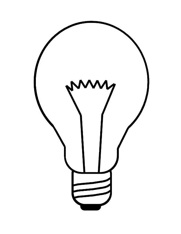 Incandescent Light Bulb Coloring Pages Download Print Online Coloring Printable Christmas Coloring Pages Online Coloring Pages Coloring Pages Inspirational