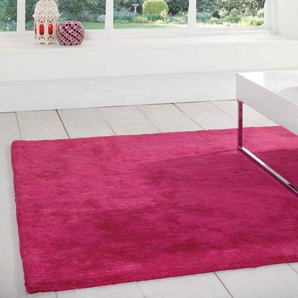 Glade Plain Rugs In Pink Buy Online From The Rug Seller Uk