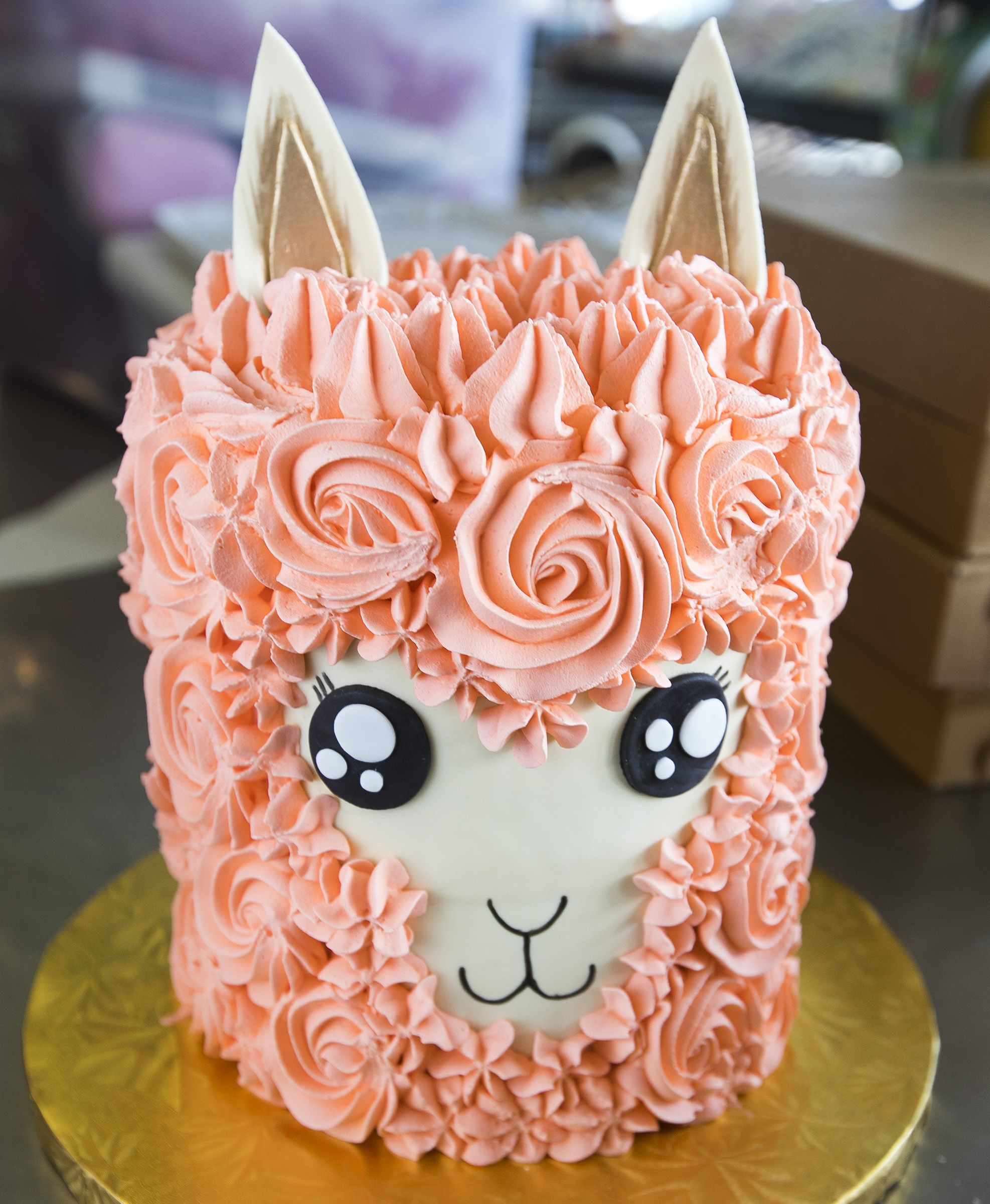 Llama Cake 217 Kids Birthday Cakes Pinterest Cake Cupcake