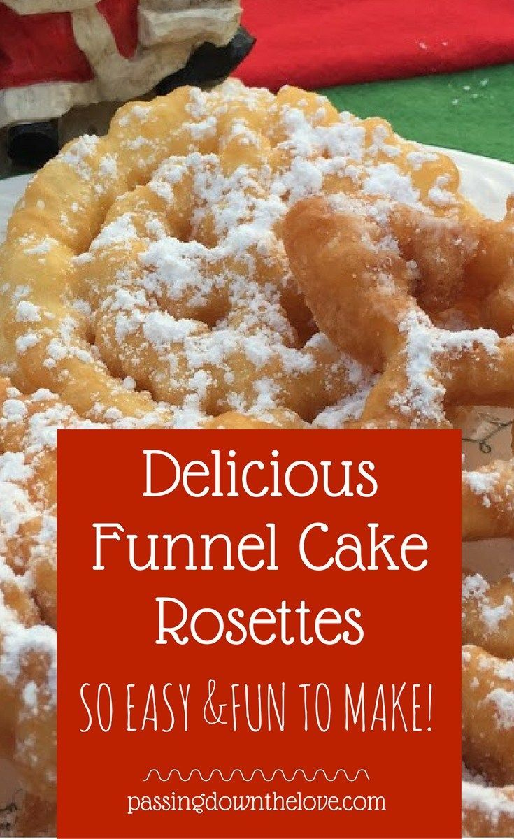 Funnel cake rosette cookie recipe christmas cookies