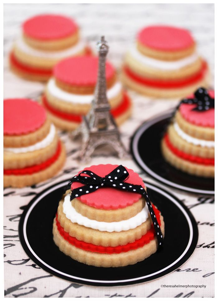 Wild Rose Parisian Styled Sugar Cookies by theresahelmer on DeviantArt