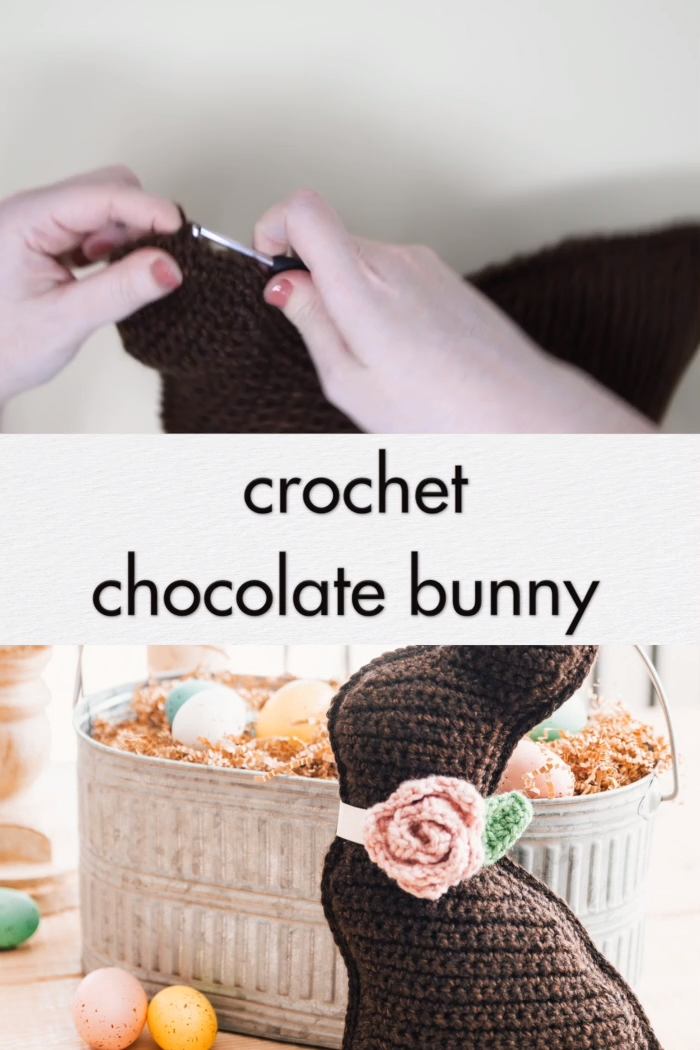 Photo of Crochet Chocolate Bunny – free pattern & video tutorial