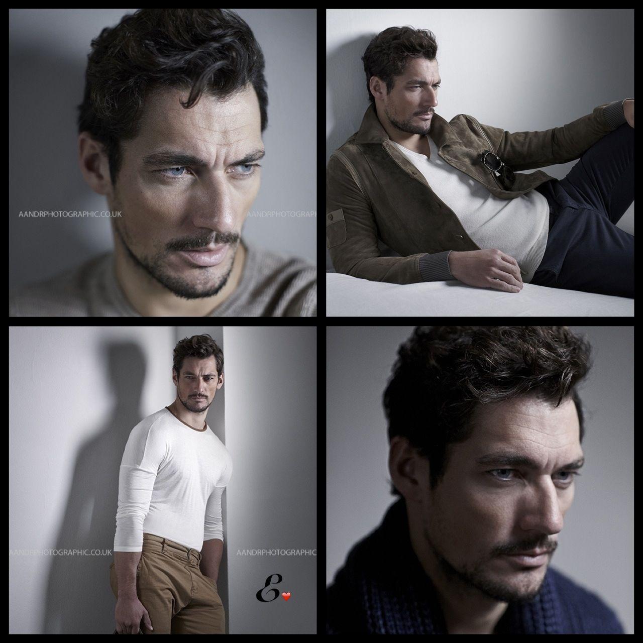 Hot collage!! David Gandy by Lorenzo Agius