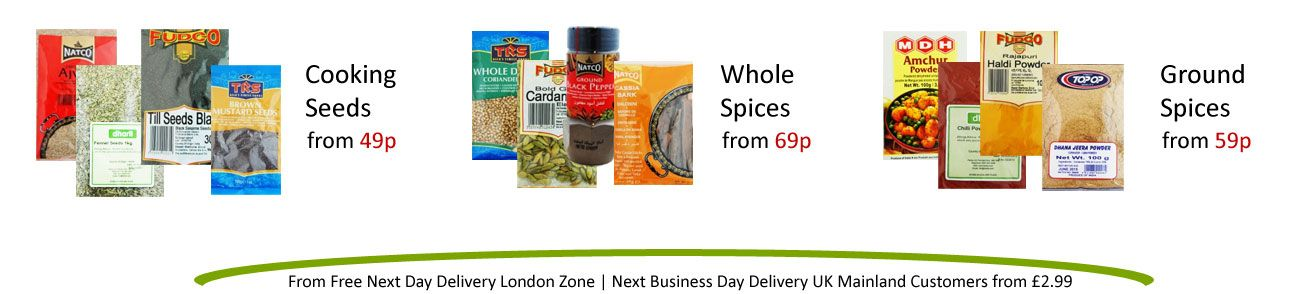 iTadka groceries - the Uk's largest online Indian food