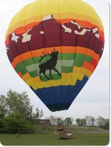 Jackson Hole Wyoming Hot Air Balloon